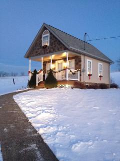 more pics of winter at the cottage