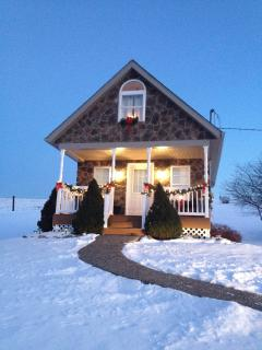 Christmas time at the cottage