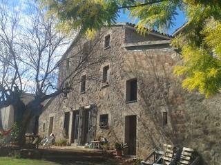 Habitacion doble en Masia Catalana (Montserrat)