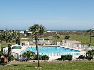 Surf City; 3/2, Ocean Views, Wifi, Boardwalk to the Beach, POOL, Port Aransas