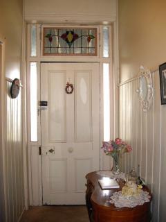 The original front door