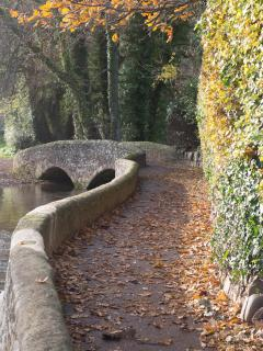 Gallox bridge, Dunster
