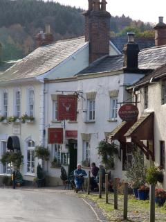 Upper end of West Street and the Stags Head pub - only a few doors from the cottage
