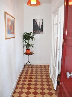 Mistral's hallway.
