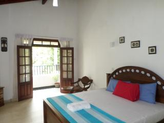 River view room with king size bead and balcony, 2 to 3 guests