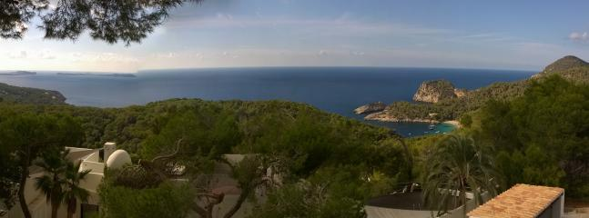 Wide View from the lounge Terrace