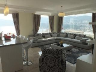 Apart Catherina - Kalkan - Luxury 3 Double Bed