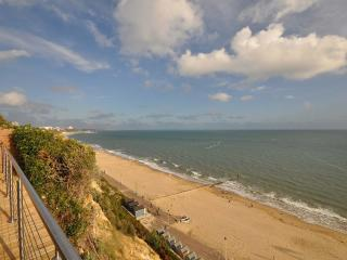Panoramic sea views from stunning ground floor, three bedroom apartment