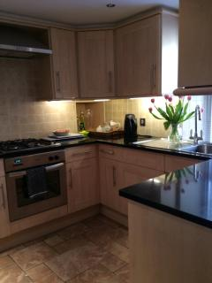 Kitchen stove cupboards etc