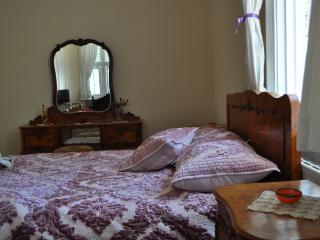Old fashion furniture, warm.. Bedroom