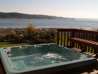 Allyn Beachfront Home - on Gorgeous Case Inlet - Hot Tub