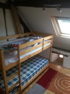 Bunk beds in 3rd bedroom