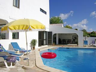 Nice villa with pool in Carvoeiro, Algarve, Portugal.