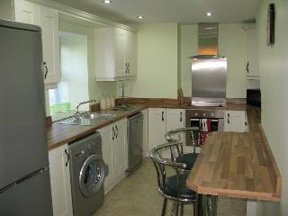 Kitchen with all modern appliances available