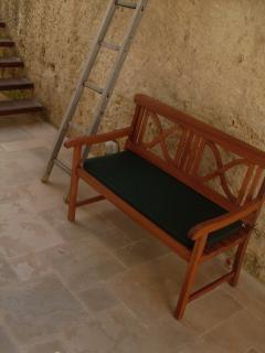 panca in legno; bench