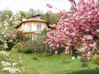 Italian Lakes 4 bedroom villa with heated pool and walking distance to lakeside