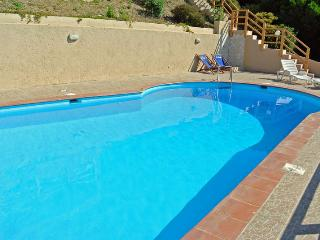 Villa Belvedere with pool and sea view