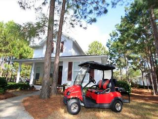 'Golfing Around' in Laurel Grove w/Golf Cart!