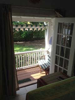 bedroom patio