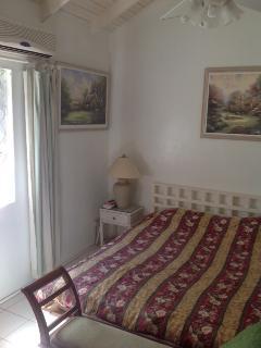 master bedroom in morning sun