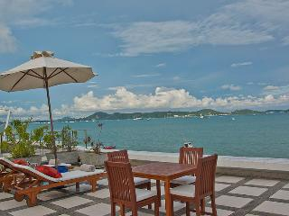 RAYA - Beachfront Two Bedroom Villa with private pool and sea views