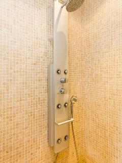 Shower from 1st bedroom