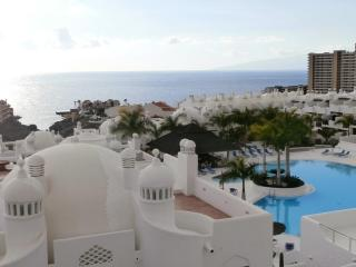Sea-view townhouse, free Wifi, 2 bedrooms, Costa Adeje