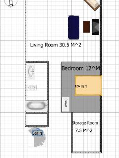 Layout of your suite