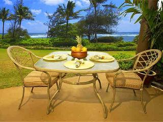 Kaha Lani Resort #121-OCEANFRONT, King Bed!, Lihue