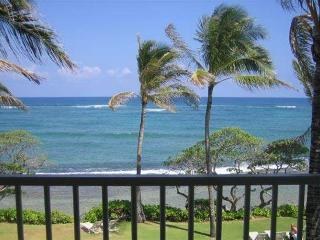 Kapaa Shore Resort #305-OCEANFRONT!Sun/Moonrises!