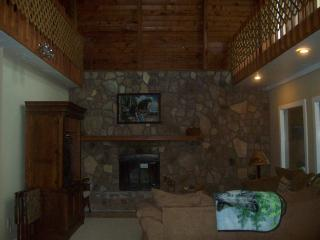 Cabin Main Living Room (Has 25 Feet Ceiling)