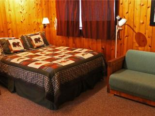 Located at Base of Powderhorn Mtn in the Western Upper Peninsula, Cozy Home in Quiet Wooded Setting with Large Living Room & Brick Fireplace, Bessemer