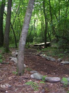8.5 Miles Of Hiking,Biking, & Walking Trails