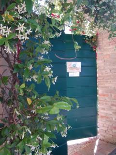 l'ingresso del Giardino Segreto