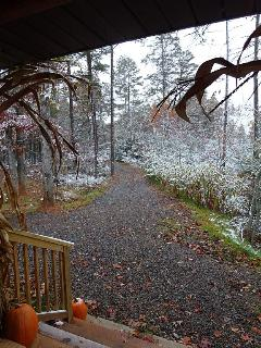 From the cabin porch 11/01/14