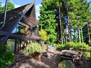 Westgate-Japanese A-Frame - Ocean Views, Hot Tub, Large Deck, Privacy, Trinidad