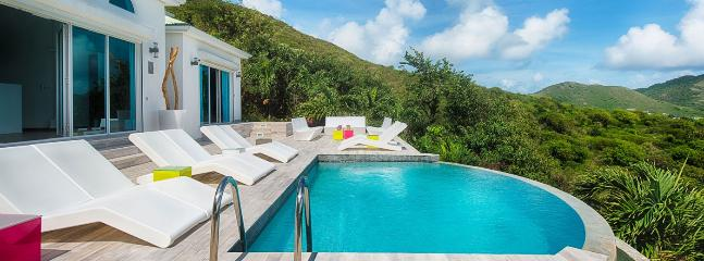SPECIAL OFFER: St. Martin Villa 153 Enjoy A Stunning View Over Orient Bay And Ocean Beyond From The Plunge Pool And Sun Deck.