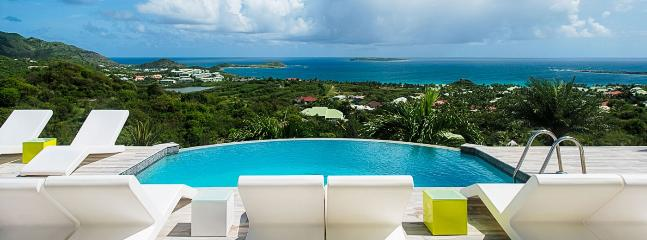 Villa Turquoze SPECIAL OFFER: St. Martin Villa 415 Enjoy A Stunning View Over Orient Bay And Ocean Beyond From The Plunge Pool And Sun Deck.