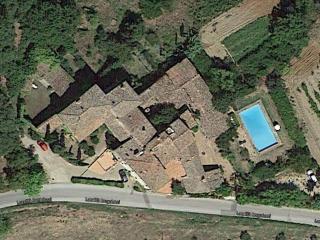 Foto aerea del Borgo