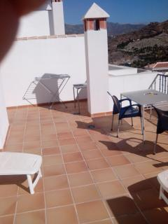 Main Roof Terrace, private and not overlooked