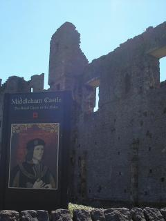 Middleham Castle - childhood home of Richard 111