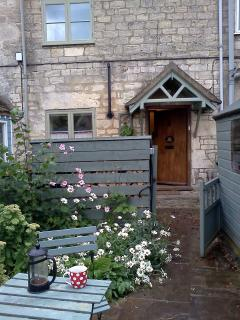 Cottage garden  and patio area