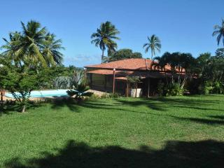 In Bahia, in Brazil, cosy cabana with pool, Arembepe