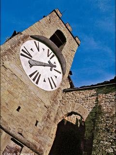 The 6 hour clock in Castel san Niccolo