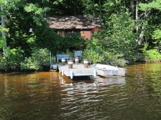 Secluded, Lakeside, Split-log Cottage with Fireplace, Rowboat