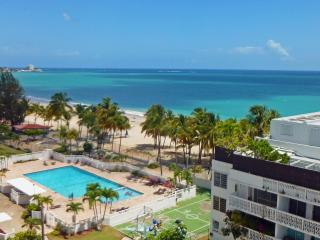 Direct on Isla Verde Beach, Steps to Casinos