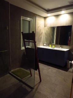 2nd Bathroom at night