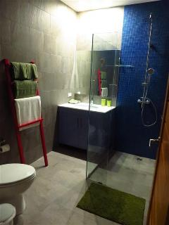 1st Bathroom at night