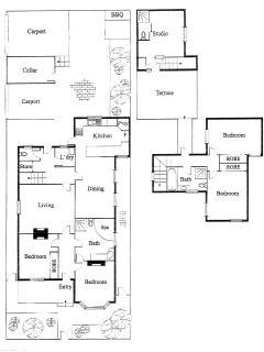 94 Highett floor plan