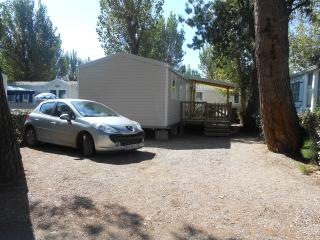 MOBILHOME NEUF CLIMATISE CAMPING LA CARABASSE 4*